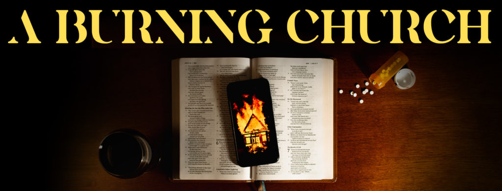 A BURNING CHURCH