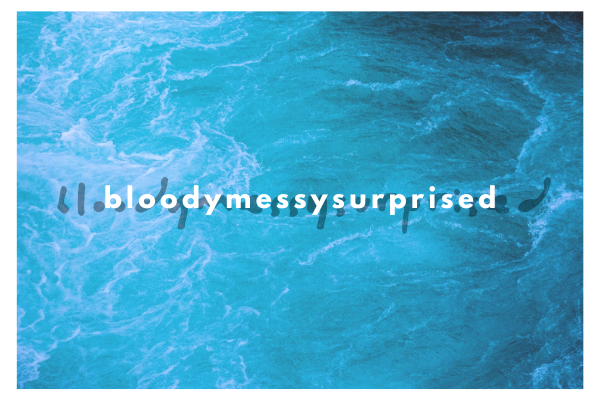 bloodymessysurprised, by DOWNTOWN NEGRO
